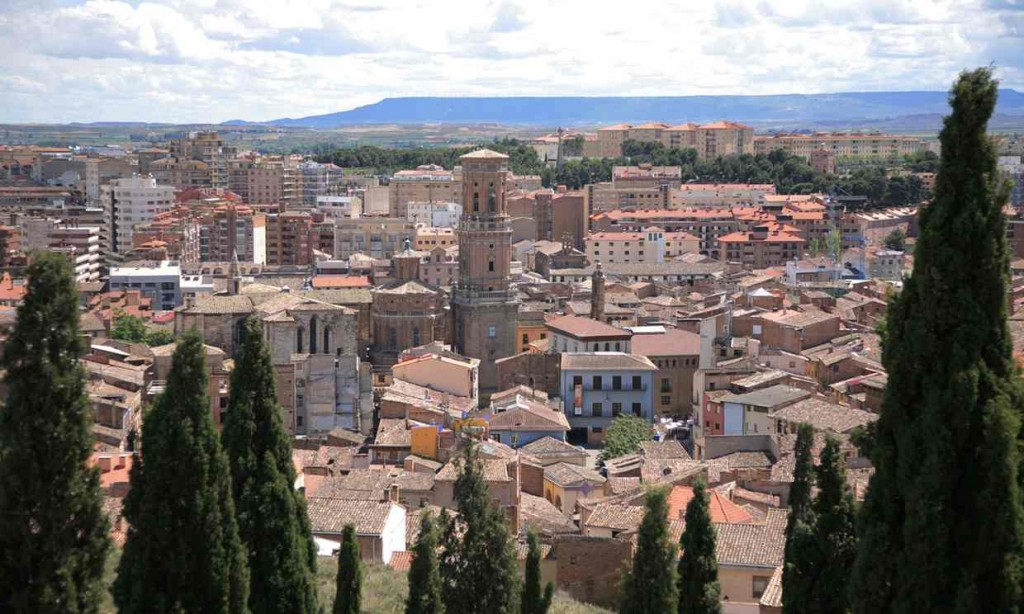 The city of Tudela, Navarre. Photograph- Alamy